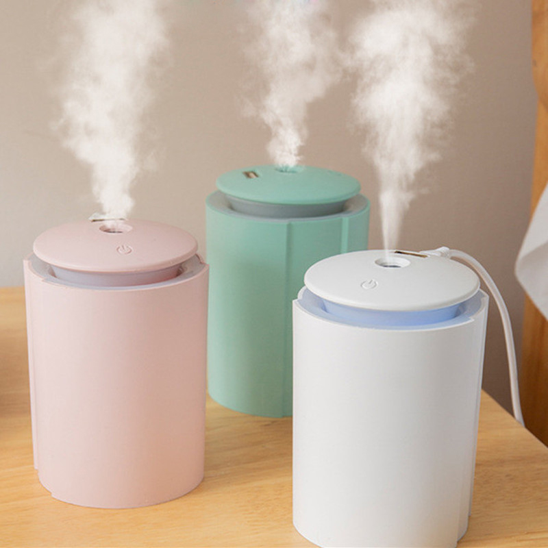 USB Air Humidifier For Home Bottle Aroma Ultrasonic Diffuser For Car LED Light Mist Maker Refresher Humidification Gifts
