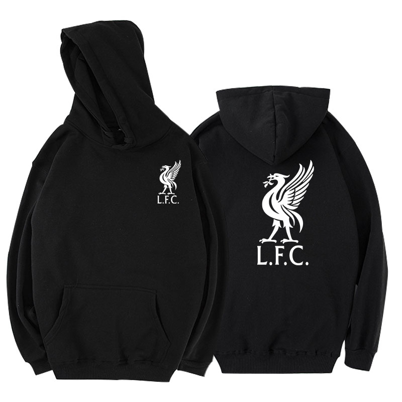 New Printed Cotton Liverpool Football Hoodie 2019 Fall Winter Fashion Style Hip Hop Casual Sweatshirt Street Clothing