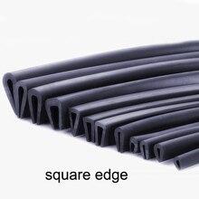 Sealing-Strip Glass-Panel Metal-Guard Wood Board-Sheet Car-Edge 1-Meter U-Shaped