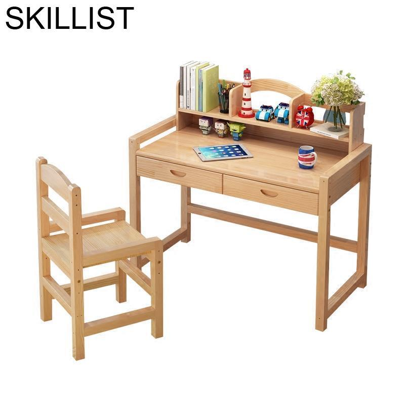 Estudar Estudiar Tafel Tableau Furniture Meja Belajar Cuadros Infantiles Tisch Wood Desk Enfant Escritorio Mesa Study Kids Table