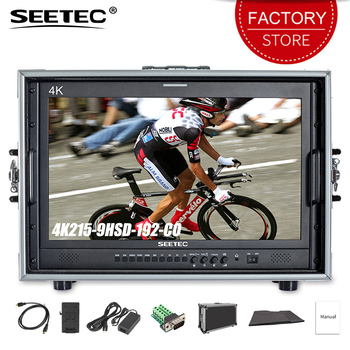 SEETEC 21.5 inch 3G SDI 4K HDMI Broadcast Carry on Director Monitor IPS Full HD 1920x1080 Display for Broadcasting Filmmaking