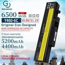 11,1 V ноутбук аккумулятор для Lenovo IdeaPad B560 Y460 V560 Y560 Y460A Y460AT Y460C Y460N Y460P Y560 Y560A Y560P 57Y6440 L10S6Y01