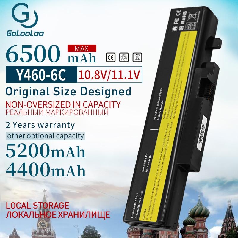 11.1V Laptop Battery For Lenovo IdeaPad B560 Y460 V560 Y560 Y460A Y460AT Y460C Y460N Y460P Y560 Y560A Y560P 57Y6440 L10S6Y01