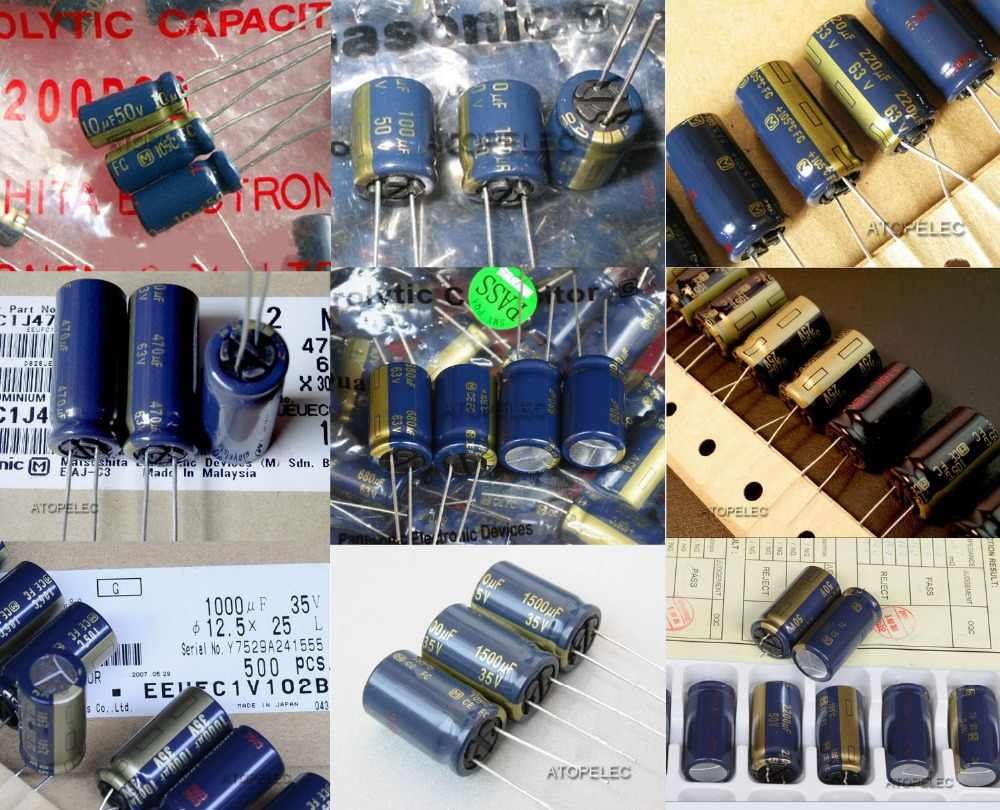 1 Máy Tính Matsushita (M) FC Series Tụ Điện Âm Thanh Hi-Fi 105 Deg. C 1 UF/4.7 UF/10 UF/22 UF/47 UF/100 UF/220 UF 25 V/35 V/50 V/63 V