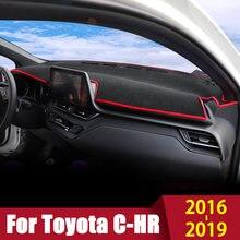 Коврик для приборной панели автомобиля toyota c hr chr 2016