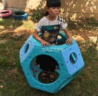 Enfants escalade balle maternelle intérieur extérieur grand escalade labyrinthe balle combinaison jouet aire de jeux équipement JSYLMGQ0087
