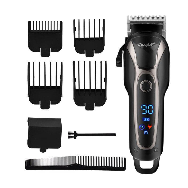 Barber Shop Hair Clipper Professional Hair Trimmer For Men Beard Electric Cutter Hair Cutting Machine Haircut Cordless Corded 34