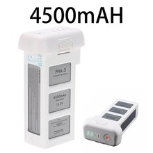 цена на For DJI Phantom 3 Series Professional Advanced Drone Intelligent Flight Battery 4500mAh 15.2V LiPo4s