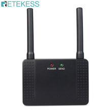 Retekess 433mhz 500mw repetidor sem fio amplificador de sinal extensor para garçom chamando restaurante pager serviço ao cliente hotel