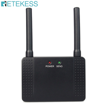 Retekess 433MHz 500mW Wireless Repeater Signal Amplifier Extender for Wireless Calling Restaurant Pager Customer Service Hotel