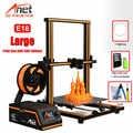Anet A8 Plus E16 E12 E10 Большой размер Настольный FDM DIY 3d Принтер Комплект Prusa i3 Impresora 3D Imprimante 3D простая сборка