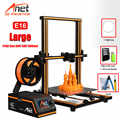 Anet A8 Plus E16 E12 E10 Große Größe Desktop FDM DIY 3D Drucker Kit Prusa i3 Impresora 3D Imprimante 3D einfache Montage