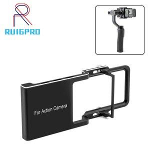 Image 1 - Stabilizer Gimbal Switch Plate Adapter Mount for Gopro Hero 7 6 5 4 3+ for DJI OSMO Zhiyun Feiyu Accessories
