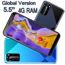 4G RAM Smartphones Android 9A Pro Handy 64G ROM Gesicht ID Entsperrt 5.5