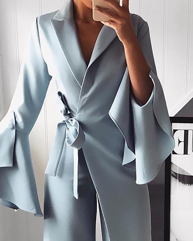 2019 Fashion Winter Autumn Rompers Womens Long Sleeve Strap  Temperament Solid Color Casual Jumpsuit Overalls For Women Bodysuit