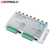 Émetteur-récepteur passif 8CH HD CVI/TVI/AHD, adaptateur vidéo Balun, transmetteur BNC vers UTP Cat5/5e/6, câble 720P 1080P