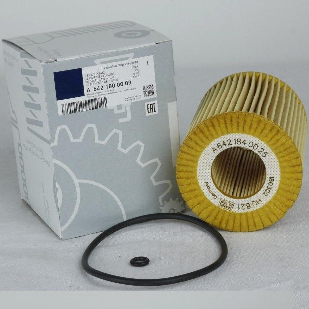Para Mercedes S211 W164 W221 W211 W251 280 320 CDI para Jeep Grand cherokel motor filtro de aceite A6421840025/a64218009