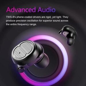 Image 2 - Sanlepus Tws Oortelefoon Draadloze Hoofdtelefoon Bluetooth Oortelefoon Sport Headset Air Oordopjes Met Microfoon Voor Telefoon Xiaomi Android