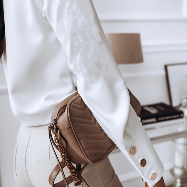 Spring Casual Long Sleeve Blouse  5