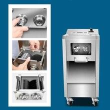 220V 110V Электрический нержавеющая сталь мяса коммерческие вертикальный автомат для резки мяса