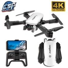 2019 Novo robô 4K HD câmera aérea quadcopter pairar de fluxo óptico inteligente seguir dual câmera helicóptero de controle remoto com câmera