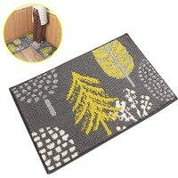 Hallway Polyester Floor Mat Wear Resistant Tree Print Household Easy Clean Multifunctional Non Slip Durable Bathroom Front Door
