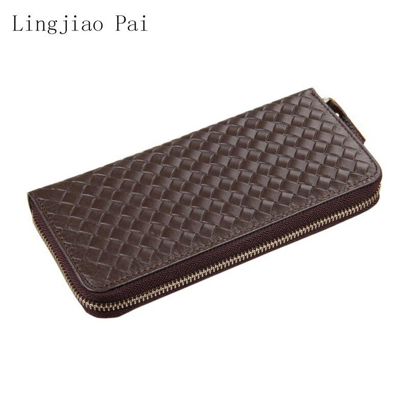 Portefeuille en cuir pour hommes porte-carte portefeuilles