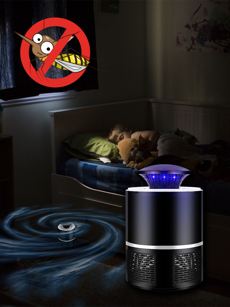 Inghoo Mosquito-Lamp Insect-Killer-Flies USB Power-Photocatalysis Radiationless Baby