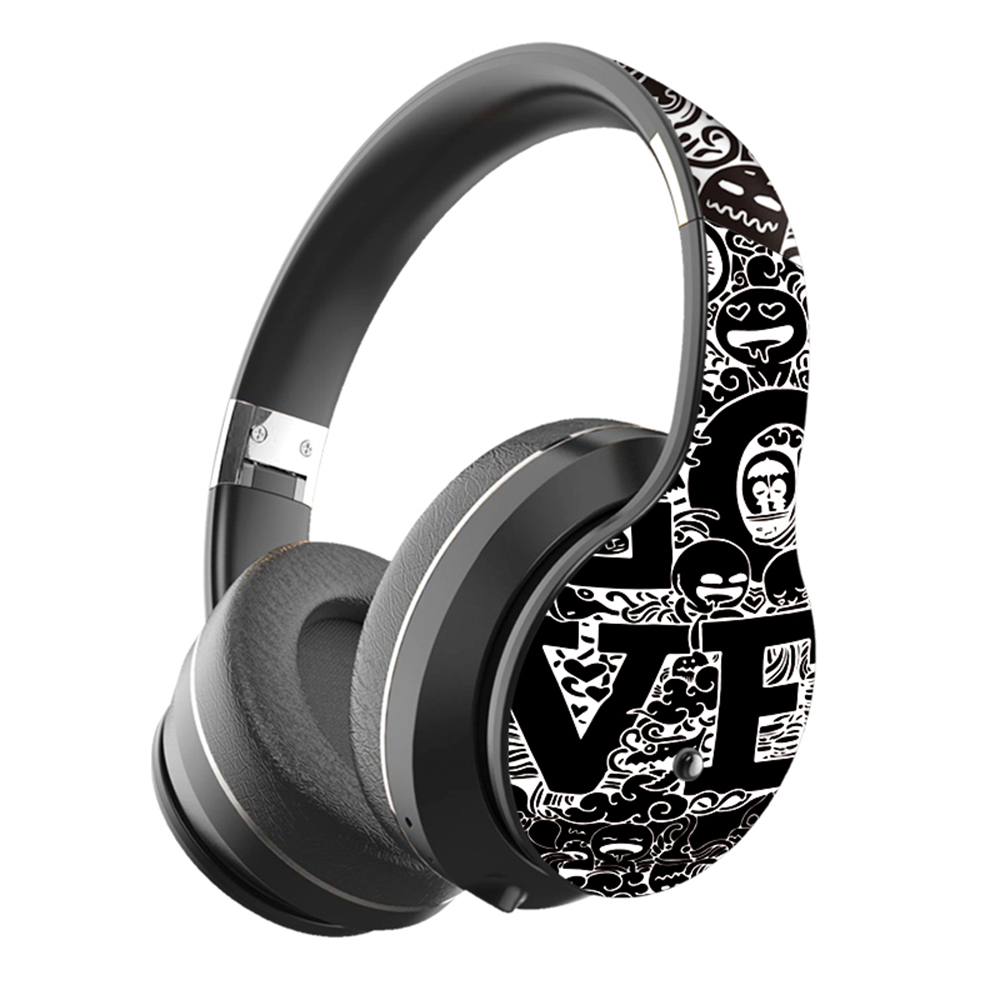 2020 New Wireless Headphones Bluetooth Headset Foldable Stereo Headphone <font><b>Gaming</b></font> <font><b>Earphones</b></font> <font><b>With</b></font> <font><b>Microphone</b></font> For PC image