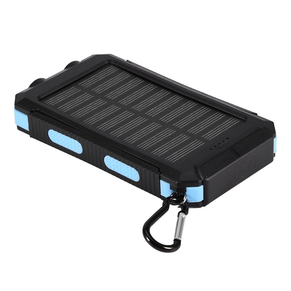 Открытый портативный солнечный Внешний Аккумулятор Чехол DIY Kit 10000 мАч Быстрая зарядка двойной USB Мобильный водонепроницаемый внешний аккумулятор чехол s с компасом| |   | АлиЭкспресс