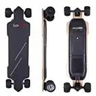 LESDIY High end 4 Wheel Electric Skateboard with Four Speed Adjustable Endurance 30km Outdoor Fun EU/US/UK/AU Plug