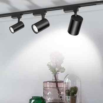 COB 12W 20W 30W Led Track light aluminum Ceiling Rail Track lighting Spot Rail Spotlights Replace Halogen Lamps AC220V - Category 🛒 Lights & Lighting