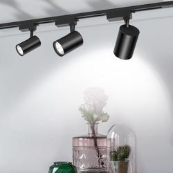 Cob 12W 20W 30W Led Spoor Licht Aluminium Plafond Spoor Verlichting Spot Rail Spots Vervangen Halogeen lampen AC220V-in Spoorverlichting van Licht & verlichting op