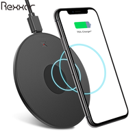 10W Fast Wireless Charger For Samsung S10 S9 Plus S8 USB Qi Charging Pad For iPhone 11 Pro XS Max XR X 8 Plus Charger Wireless