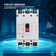цена на BEM1LE-125L/3300 100A 3-Pole Leakage Protection Low Voltage Moulded Case Circuit Breaker Air Switch residual circuit breaker