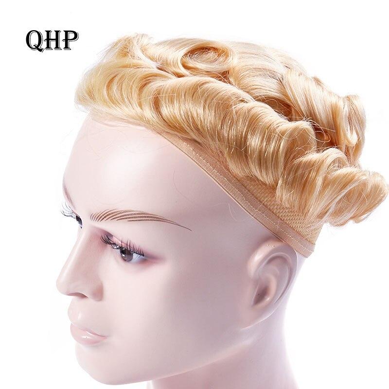 Парик для мужчин, парик, искусственная кожа, замена, тонкая кожа, 0,04-0,05 мм, 8х10, натуральный индийский человеческий Реми, 6 дюймов