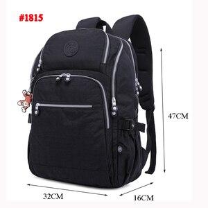 Image 5 - Tegaoteバックパック女性ボルサbagpackマルチポケットナイロン防水旅行バックパック子供スクールバッグ代の少女usb充電