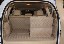 Customized full covered car trunk mats for Lexus GX 460 7seats waterproof cargo liner mat boot carpets for GX460