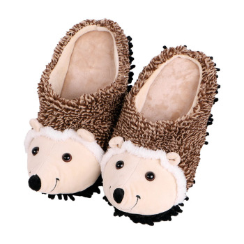 special fur slippers timber land shoes men women winter slippers Custom slippers Home House Slippers Children indoor hedgehog timber home living