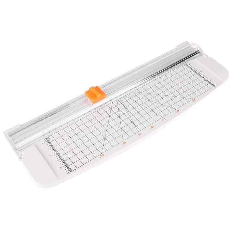 Portatile A4 Paper Trimmer E Taglierine Professionali Precisione Taglierina di Carta di Plastica Macchina di Taglio Ufficio Etichette Foto di Taglio Zerbino Macchina Fai Da Te