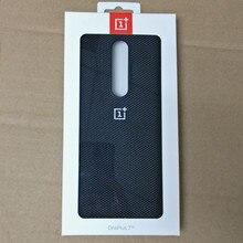 100% oryginalny oficjalny OnePlus 7 Pro /OnePlus 7 skrzynki pokrywa zderzak Nylon matowy ochronna szczupła obudowa tylna