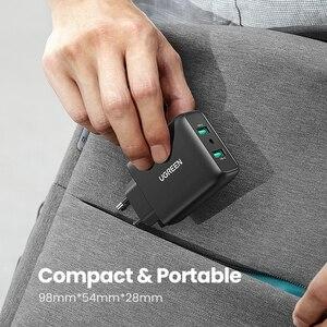 Image 5 - Ugreen USB зарядное устройство Quick Charge 3,0 36W быстрое зарядное устройство адаптер QC3.0 мобильный телефон зарядные устройства для iPhone Samsung Xiaomi Redmi зарядное устройство
