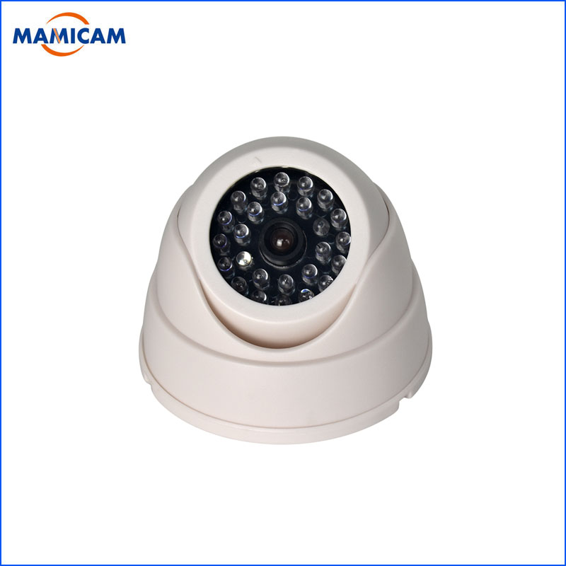 Fake Camera CCTV Surveillance Safty Kamera Dome Dummy Cameras Indoor Outdoor With Red Flashing LED Light