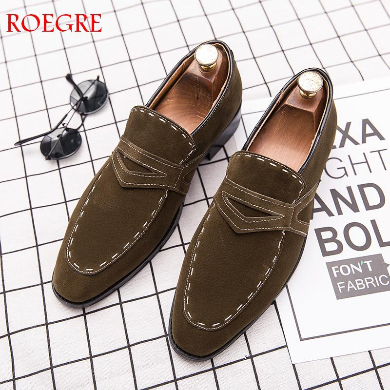 2019 New Men Shoes Casual   Leather   Shoes Comfortable Loafers man Driving Shoes Flat Wedding Shoes Fashion Male Shoes Big Size 48