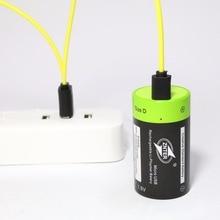 Znter 1.5V 4000 Mah Batterij Micro Usb Oplaadbare Batterijen D Lipo LR20 Batterij Voor Rc Camera Drone Accessoires Gratis verzending