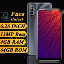 K30 Pro смартфон с четырёхъядерным процессором, ОЗУ 4 Гб, ПЗУ 64 ГБ, 13 МП, android