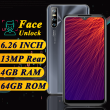 K30 pro quad core smartphones 4gb ram 64gb rom 13mp celulares face id desbloqueado telefones celulares android wifi wcdma global 4g lte