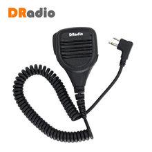 PMMN4013A 2 контактный ручной микрофон Микрофон для радиостанций MOTOROLA EP450 GP300 GP88s GP2000