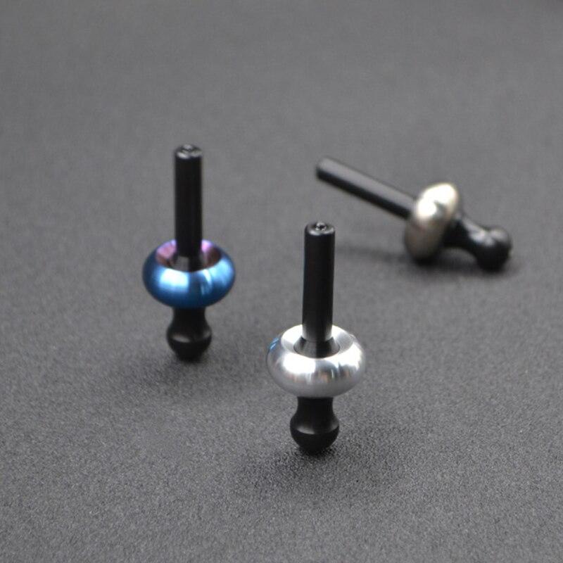 Mushroom Fingertip Gyro EDC Hand Spinner Kinetic Desktop Toys Decompression Hypnosis Rotary Gyro Adult Fingertip Toy Gift