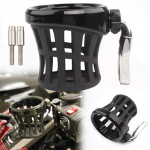 Cup-Holder Aluminum-Accessories Motorcycle GL1800 Honda Goldwing Handlebar for Beverage-Support-Bracket
